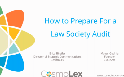 How to prepare for Law Society Audit