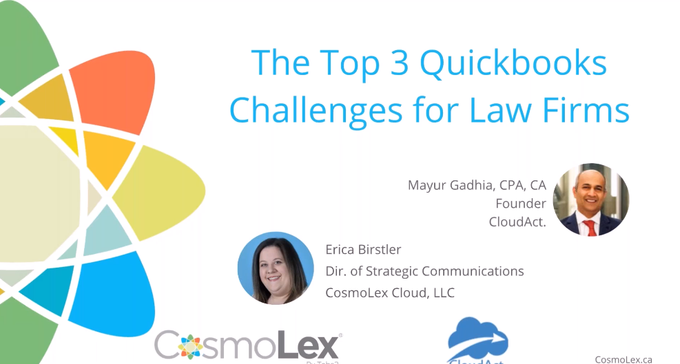 The Top 3 QuickBooks Challenges for Law Firms